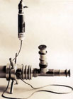 First Borescope for turbine rotor inspections, 1921.