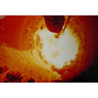 Internal View of a Rotary Kiln