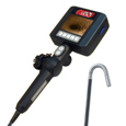 Battery-Powered Videoscope with Integrated LED Lighting, 4-Way Tip Articulation and SD Card Recording