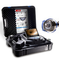 Advanced Portable Videoscope Inspection System with Pan and Tiltable Color Camera Head